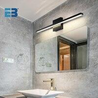 Luz LED de pared para interior y baño, iluminación moderna AC85-265V para tocador, accesorios de iluminación, lámpara de espejo