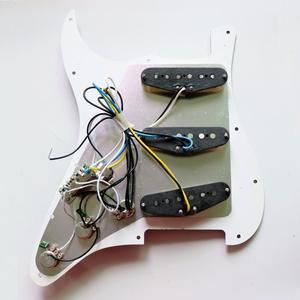 Image 5 - بيكجوارد كلاسيكي من نوع سأنت جيتار أبيض محملة بالتقاطات ألنيكو التراثية من طراز Donlis 60 مناسب لبيكجوارد ستراتوكاستر
