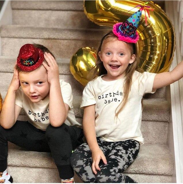 2020 di Nuovo Modo di Bambino Del Bambino Dei Bambini Dei Ragazzi di Estate T-Shirt Ragazze T Shirt A Manica Corta Per Bambini Carino Magliette e camicette Tee 1-8 anno 2
