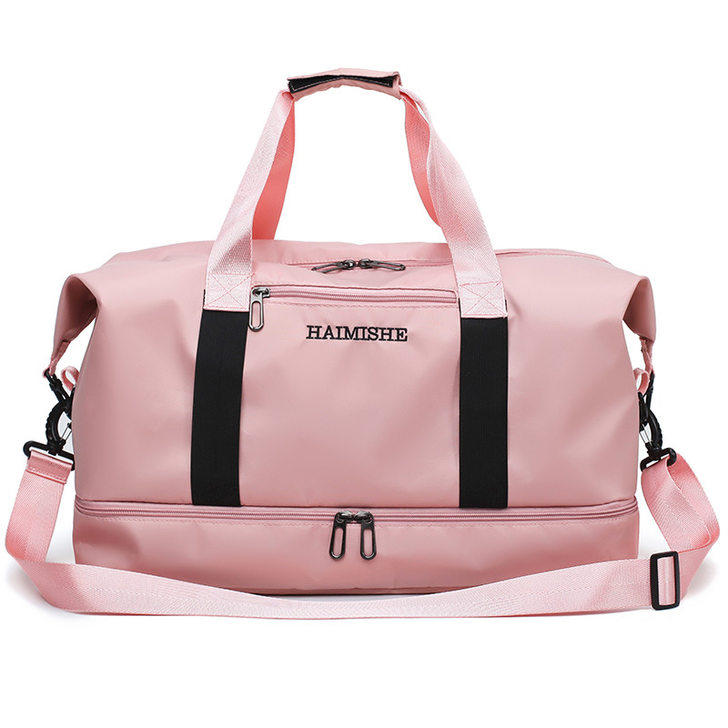 Outdoor Waterproof Oxford Training Shoulder Sport Bag Yoga Fitness Bag  For Women Men Fitness Travel Duffel Clothes Gym Bags 201