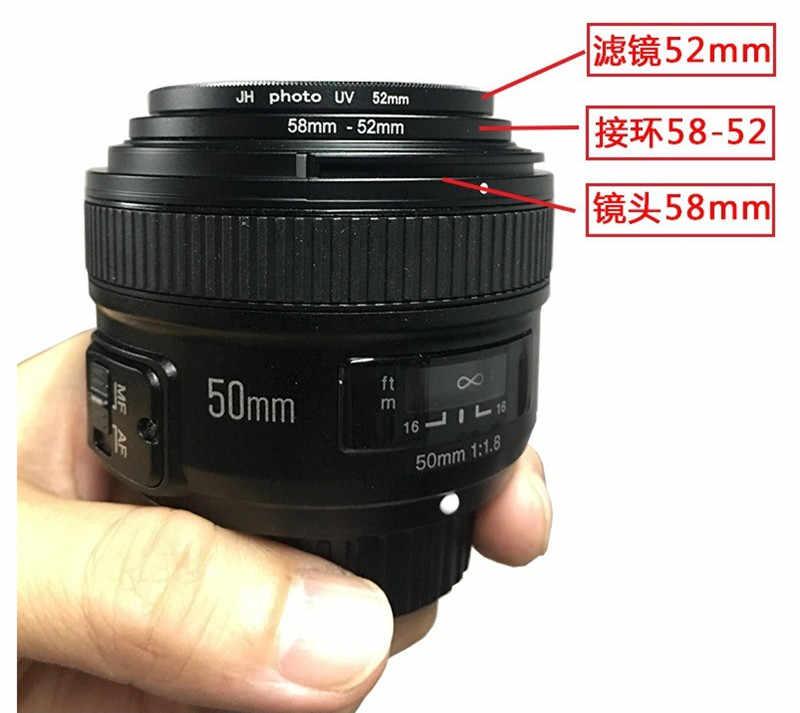 Kim Loại Chuyển Đổi Ống Kính Lens Chức Fliter Vòng 82mm-77mm-72mm-67mm-62mm-58mm-55mm-49mm cho Tất cả các Ống Kính Máy Ảnh Bộ