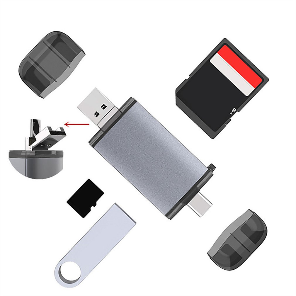 USB 3.0 SD Memory Card Reader SDHC SDXC MMC Micro Mobile Adapter T-FLASH Hot