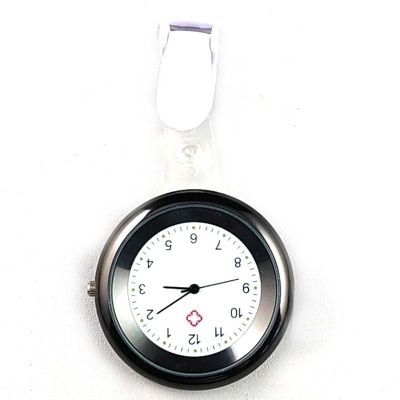 Nurse Watch Brooch Silicone Clip Infection Control Design Nurse Doctor Paramedic Brooch Fob Watch SER88