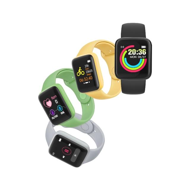 FEOOE Macarone Smart Bracelet Macarone Cross Border New Heart Rate and Blood Pressure Multifunctional Bluetooth Watch Yxm 4