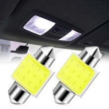 Bombillas LED de 31mm para coche, luz de lectura de matrícula para Ford Focus MK2 MK3 ST RS Ecosport Ranger c-max s-max Fuga Fiesta