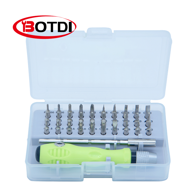 Precision Screwdriver Set 32 In 1 Screwdriver Set, Mobile Phone Camera Repair - Various Screwdriver Head Combination