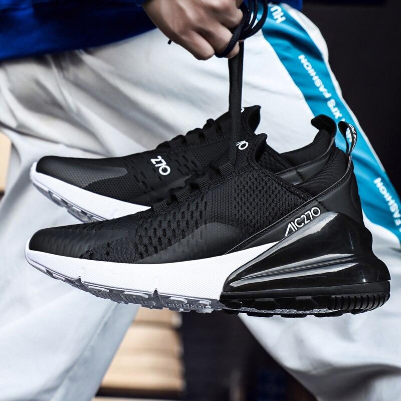 2019 chaussures décontractées hommes léger course hommes chaussures respirant maille Sport hommes baskets plat extérieur chaussures d'été formateurs
