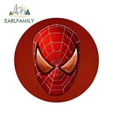 EARLFAMILY 13cm x Spiderman Super Hero Marvel Car Stickers Window Bumper Laptop Rear Windshield Waterproof Vinyl Decal
