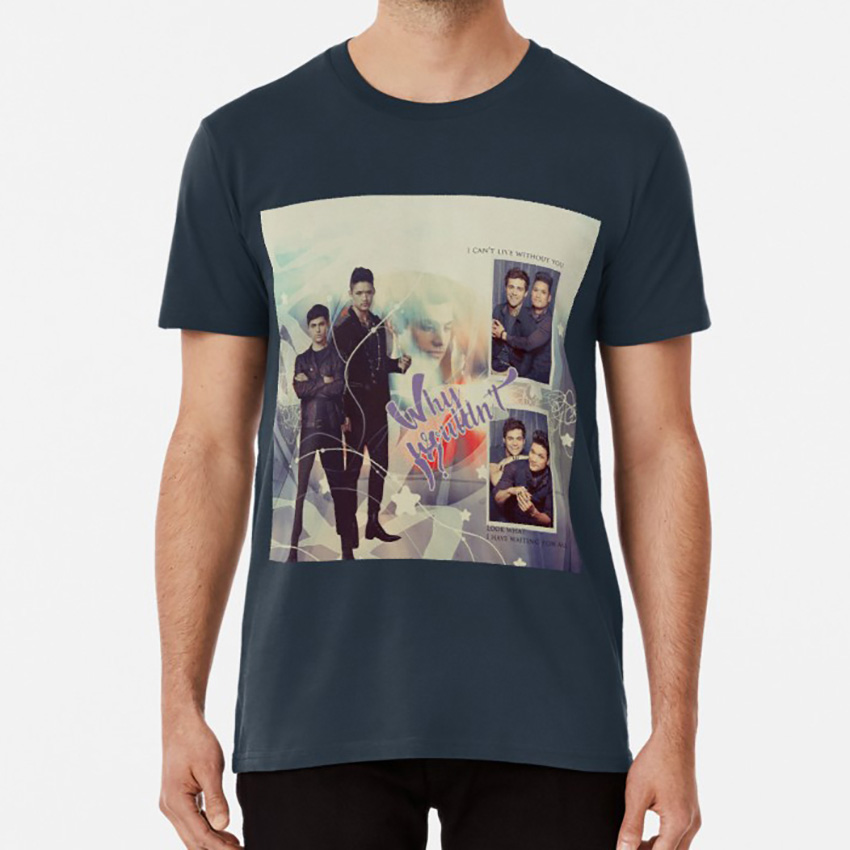 Why Wouldn't I ? Look What I Have Waiting For Me. V1 T <font><b>Shirt</b></font> Malec Shadowhunters Alec Lightwood Magnus <font><b>Bane</b></font> image