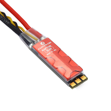 Flycolor Raptor Slim 40A to 2-4S BLHeli-S ESC 3 in 1 Dshot600 controller 35 * 10 * 7mm Mini size cooling fin 10mm racing arm RC racerstar shot30a esc 30a 30amp 3 6s 4 in 1 blheli s bb2 dshot600 integrated current voltage sensor for rc racing drone dron