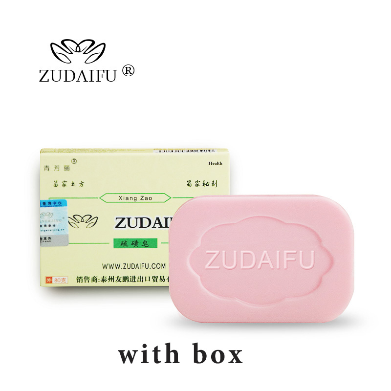 ZUDAIFU Sulfur Soap Skin Conditions Acne Psoriasis Seborrhea Eczema Anti Fungus Bath Cream Skin Care