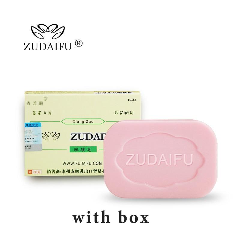 ZUDAIFU Sulfur Soap Skin Conditions Acne Psoriasis Seborrhea Eczema Anti Fungus Bath Cream Skin Care