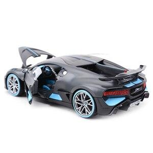 Image 2 - Maisto 1:24 בוגאטי Divo ספורט רכב סטטי למות יצוק כלי רכב אספנות דגם רכב צעצועים
