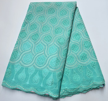 Wholesale Swiss Voile Lace In Switzerland Nigerian cotton Lace High Quality African dry Lace fabric For Woman dress