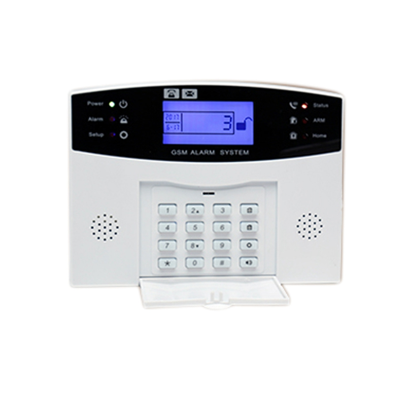 OS Android APP Control Wireless Home Security GSM Alarm System Intercom Remote