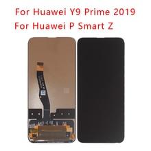 6.59 Inch Voor Huawei Y9 Prime 2019 Lcd Touch Screen Digitizer Vergadering Vervanging Voor Huawei P Smart Z lcd Telefoon Onderdelen