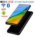 BENJIE X10 Bluetooth MP3-плеер с полным сенсорным экраном 8 ГБ портативный Android музыкальный MP3-плеер с Wifi FM рекордер электронная книга Видео