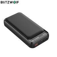 Banco de energía BlitzWolf BW P11 18W QC3.0 PD 20000mAh banco de energía móvil para iPhone 11 Pro X para Samsung S9 S10 para xiaomi|Cargador portátil| |  -