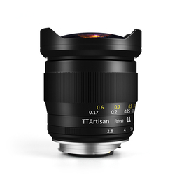 TTArtisan 11mm F2.8 Full Fame Fisheye Lens for Leica M-Mount Cameras Like Leica M-M M240 M3 M6 M7 M8 M9 M9p M10 Presale