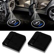 Projecteur Laser de bienvenue sans fil pour porte de voiture, 2 pièces, pour Opel Astra H G Corsa Insignia Antara Meriva Zafira