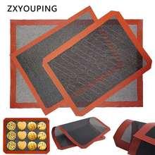Антипригарный силиконовый коврик goldbaking для выпечки хлеба