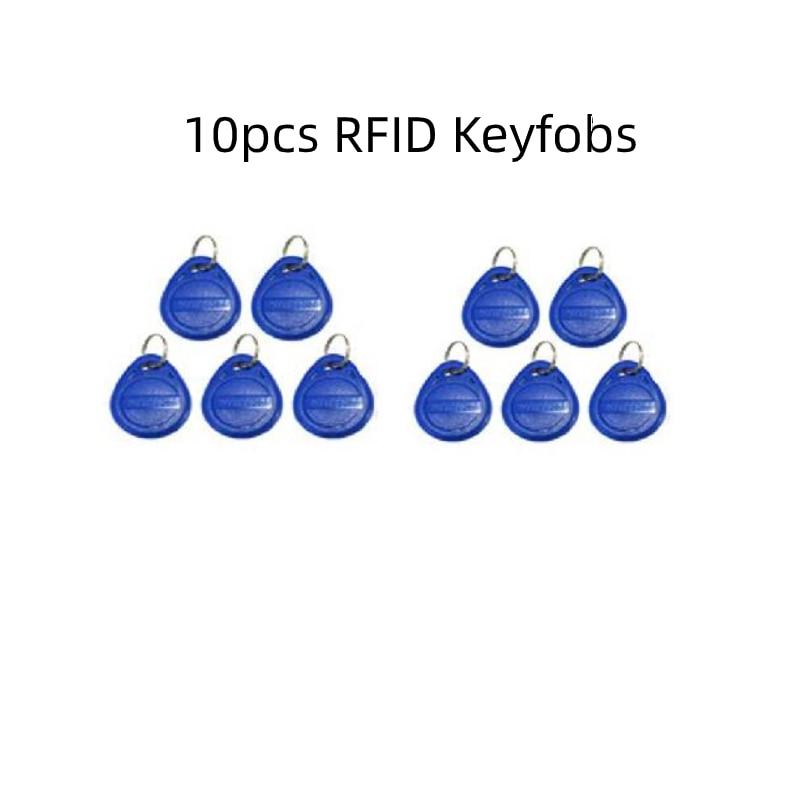 RFID Keyfobs for Video Intercom 125Khz ID Cards RFID Tags Access Control Cards Key Chain