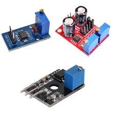 NE555 импульсная Частота Рабочий цикл регулируемый модуль генератор сигналов квадратной волны 10 кГц-200 кГц