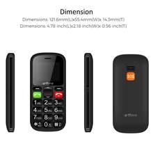 Большая кнопка для пожилых людей улучшенный gsm телефон artfone