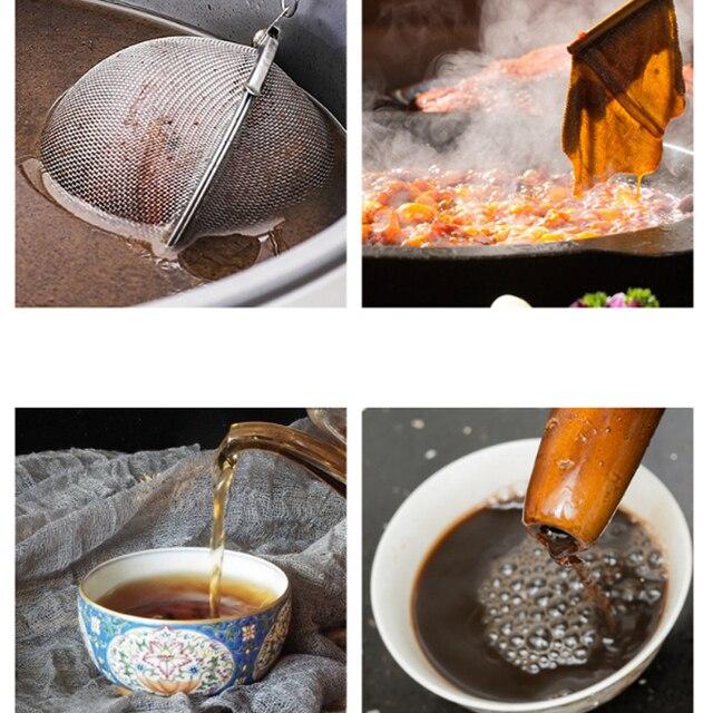 Infuseur à thé en acier inoxydable, 5 tailles 6