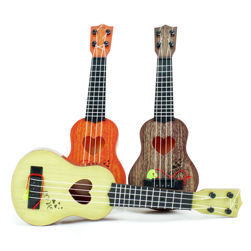 Beginner Classical Ukulele Guitar Educational Musical Instrument Toy for Kids Early Education FK88