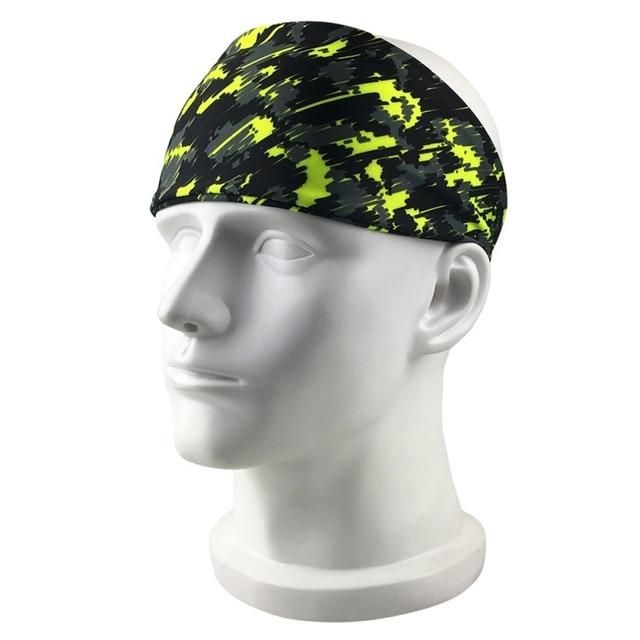 Outdoor Fitness Running Headband Bandage Quick-drying Sweat Belt Sports Tennis Headband Sweat-proof Breathable Headband 2