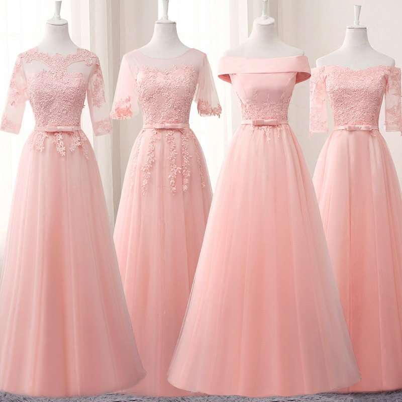 Fashion Long Evening Dress Formal Prom Party Dresses Bridesmaid Dresses Dropshiping