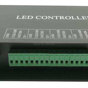 Image 3 - H802RA 4 منافذ (4096 بكسل) Artnet تحكم DMX Artnet تحكم WS2801 WS2811 Artnet مادريكس وحدة تحكم في البكسل مصباح ليد