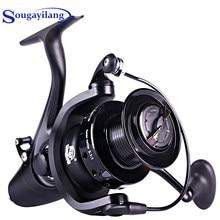Sougayilang 5000 6000 9000 Series Spinning Fishing Reel 5.1:1 przełożenie słodkowodne 13BB Reel Max Drag 15 kg karpia kołowrotek