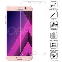 9D protectora de cristal para Samsung Galaxy J3 J5 J7 A3 A5 A7 2016 de 2017 de vidrio templado para Samsung S7 J2 J5 J7 primer J4 Core de vidrio