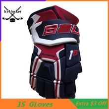 """Перчатки для хоккея высшего уровня 1 S, четыре цвета, 1"""" 14"""", профессиональные защитные хоккейные перчатки"""