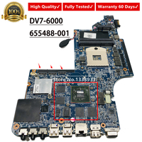 Para HP Pavilion DV7 HM65 655488-001 DV7-6000 Laptop Motherboard mainboard