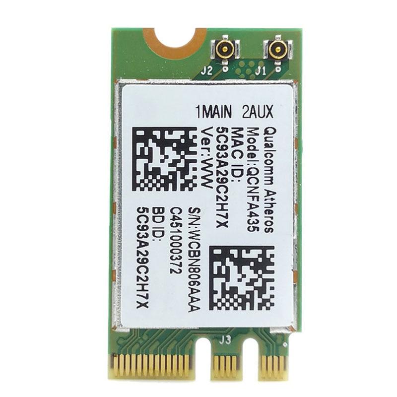 HOT-Wireless Adapter Card For Qualcomm Atheros QCA9377 QCNFA435 802.11AC 2.4G/5G NGFF WIFI CARD Bluetooth 4.1