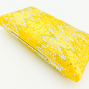Image 5 - Boutique De Fgg Elegante Gele Kristallen Dames Clutch Bag Vrouwen Avond Party Wedding Portemonnees En Handtassen Bruids Diamanten Tas