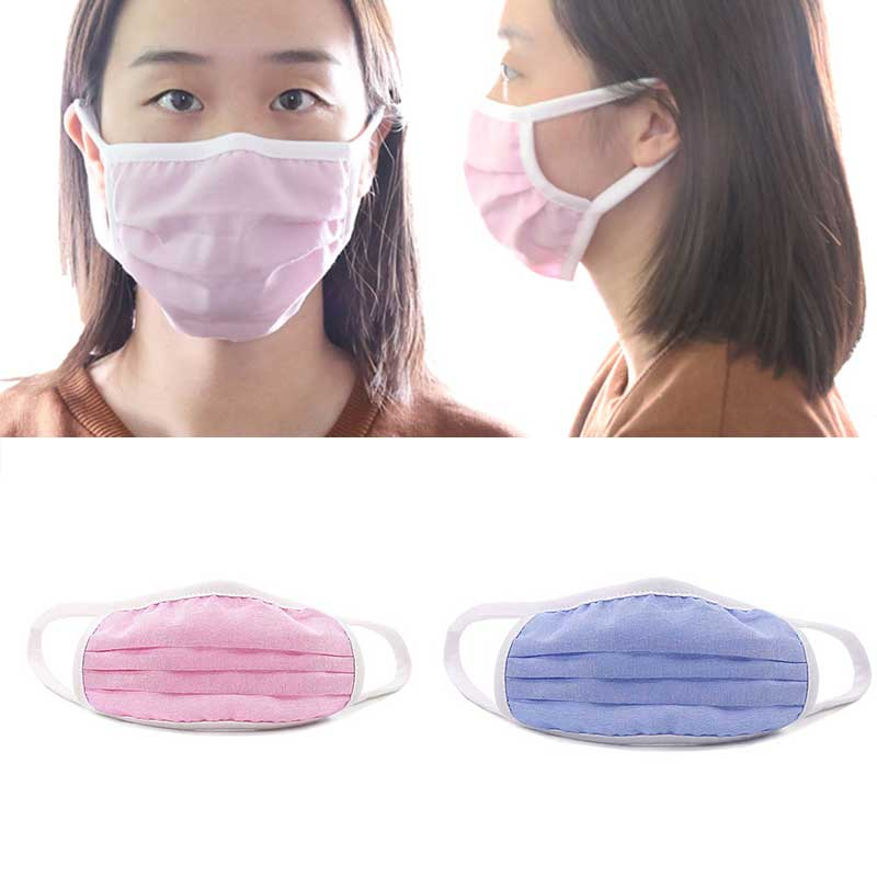 Mouth Face Masks Women Men Anti-dust  Unisex Mouth Masks Protection Dustproof Children Adults Double-layer Mesh Filtering Mask