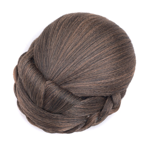 Gres Hair Buns for Women Clip In Hair Updo Blonde High Temperature Fiber Synthetic Hairpieces for lady