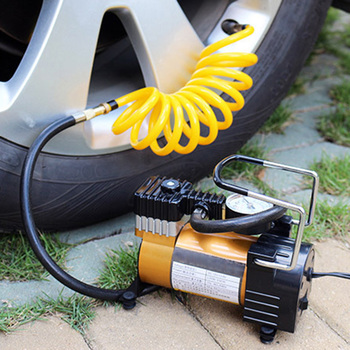 Portable Car Electric Inflator Pumps 12V 150PSI Tire Inflator Air Compressor Pumps Universal for Cars Bicycles Wheels X66