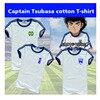 גברים נשים כדורגל חולצות קפטן צאבאסה צאבאסה Ozora קוספליי גופיות אופנה יפן כותנה ילדים נוער כדורגל t חולצה