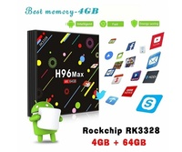 H96 Max 4K Android 9,0 Tv Box 4 Gb DDR3 Ram 32 Gb memoria Kodi listo