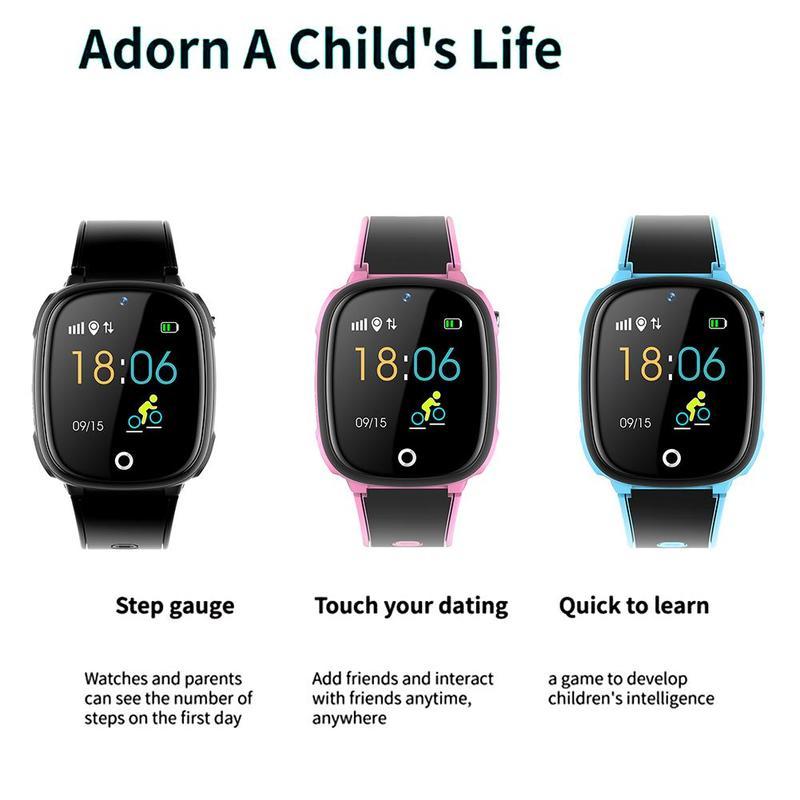 Детские часы для телефона Смарт позиционирование ip67 водонепроницаемые