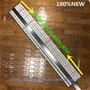Image 5 - 6 ピース/ロット 8 Led 850 ミリメートル LED バックライトストリップ LG 43LH604V 43LH60_FHD_A タイプ UF64_UHDht UF64 UHD A 画面 HC430DGG SLNX1 211X