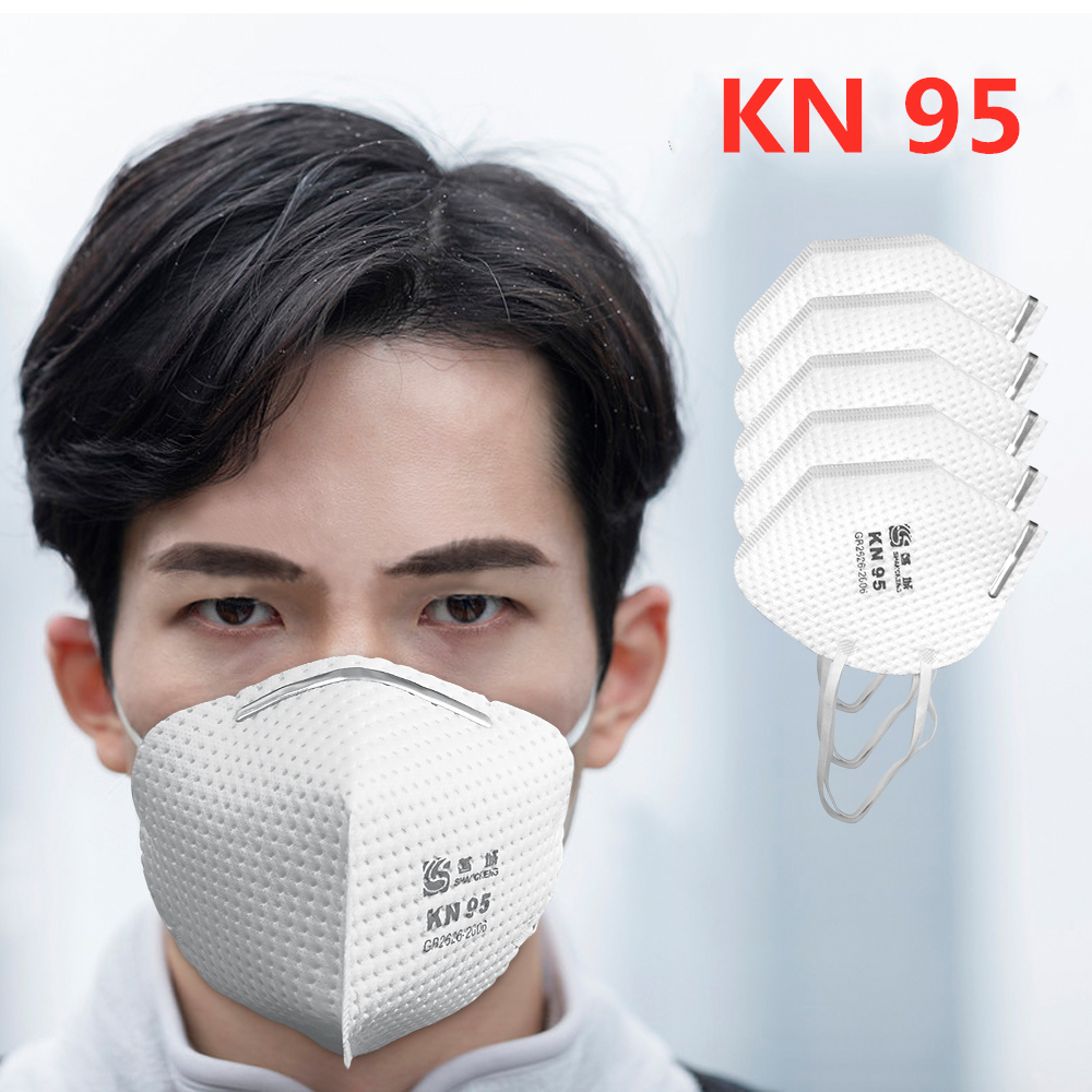KN95 Mask 5 Layers Protective Face Mask N95 FFP3 Mouth Mask 95% Filtration Dust Anti Infection Respirator Mask As KF94 FFP2
