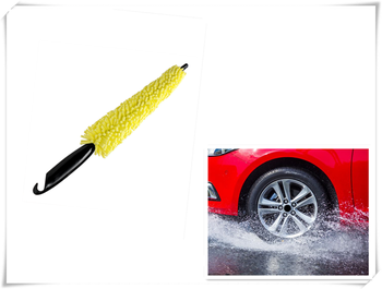 Multifunctional car parts cleaning brush Wheel hub Tire erase for Toyota camry 1995 2001 corolla 2007 2004 image