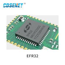 E180-ZG120B 2.4GHz ZigBee3.0 EFR32 SoC 20dBm 32-bitARM Cortex -M4 kernel PA Stamp Hole IPEX SMD IoT Wireless Transceiver Module