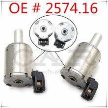 2PCS Für Renault Getriebe für Fiat Citroen Peugeot AL4/DP0 EPC Magnet Solenoids 2574,16 257416 2574 16 7701208174 0000257416